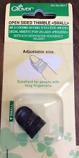 CLOVER OPEN SIDED THIMBLE-SMALL #6017