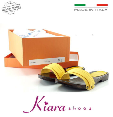 37 2 41 Cm Made 39 Chaussures 42 Sabots 38 35 Talon Italy 40 36 Basses Jaune In w8axZ7SBq