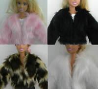Beautiful Fur Coat For Barbie Dolls