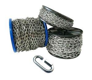Ankerkette Edelstahl Stahlkette Gliederkette Knoten Kette Stahl Metall Rostfrei