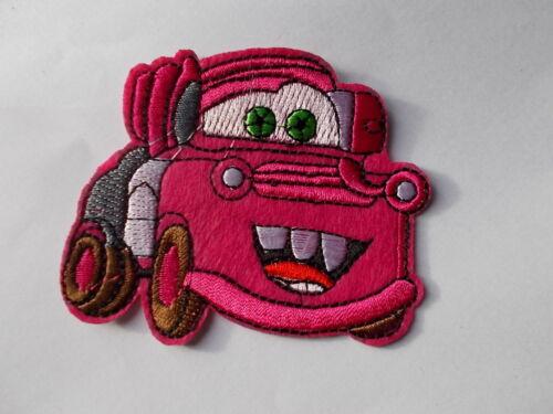 Disney Pixar Cars-Bordado De Hierro//Coser Parche Aplique Insignia
