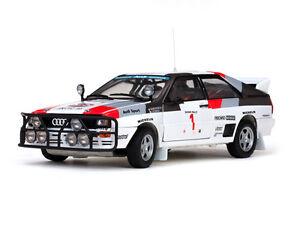 Sun Star 1/18 Sun4227 Audi Quattro N ° 1 Mouton / Par 3e Safari 1983