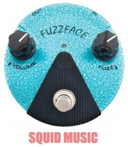 Dunlop FFM3 Jimi Hendrix Fuzz Face Mini Turquoise Guitar Pedal B STOCK