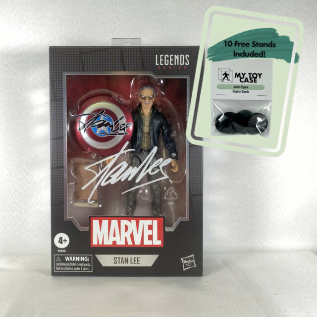 "Marvel Legends Stan Lee Excelsior! 6"" Action Figure NEW/Sealed"