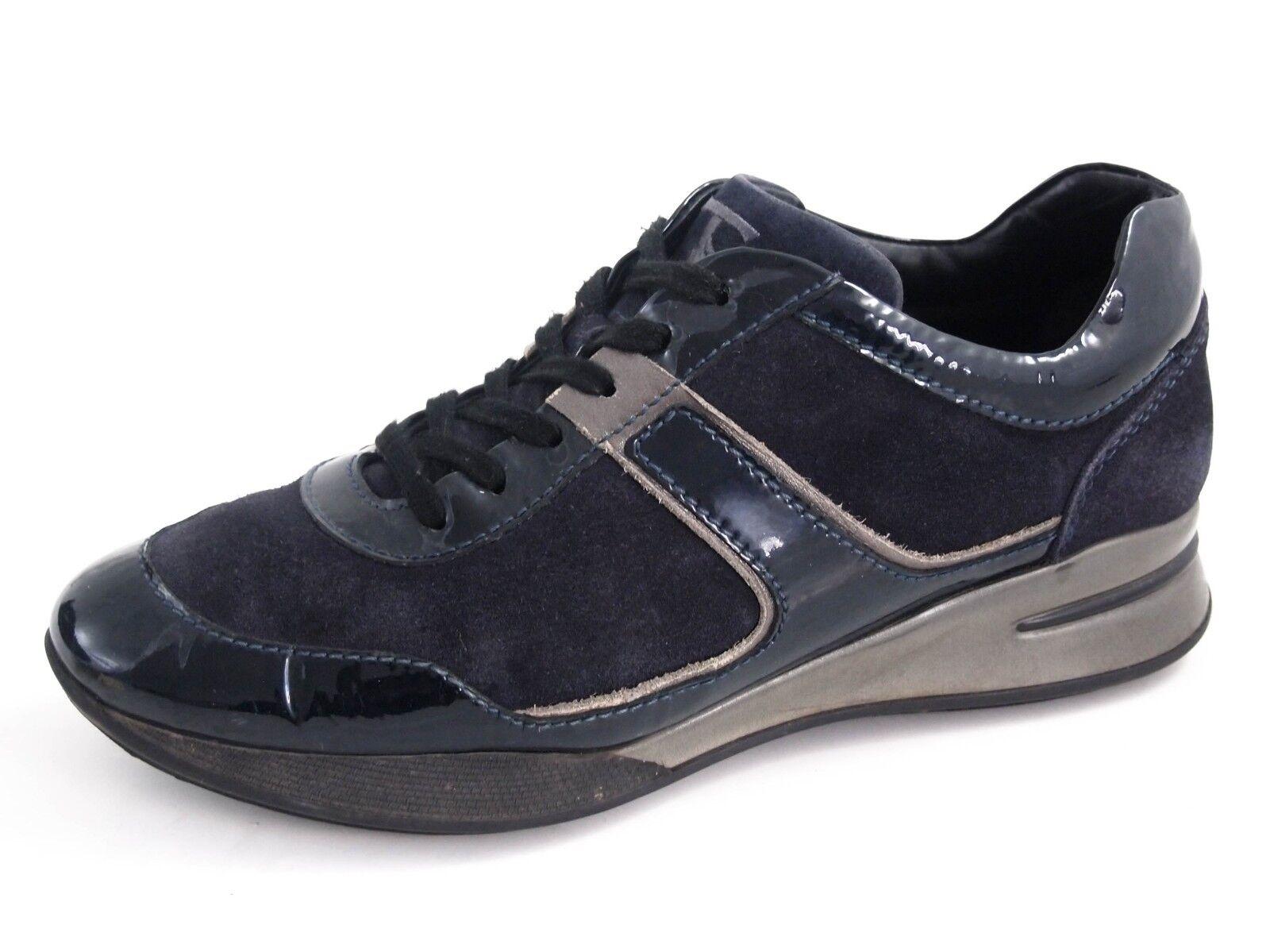 Tod'S Zapatillas, azul Suede Charol, Mujer Tamaño Tamaño Tamaño del Zapato EU 37.5 nos 7.5  380  venta con descuento