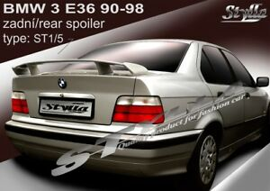 91e76b41ff5b Image is loading SPOILER-REAR-BOOT-TRUNK-TAILGATE-BMW-E36-WING-