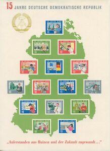 Germany-GDR-1964-Block-19-Like-Verausgabt-More-See-Shop