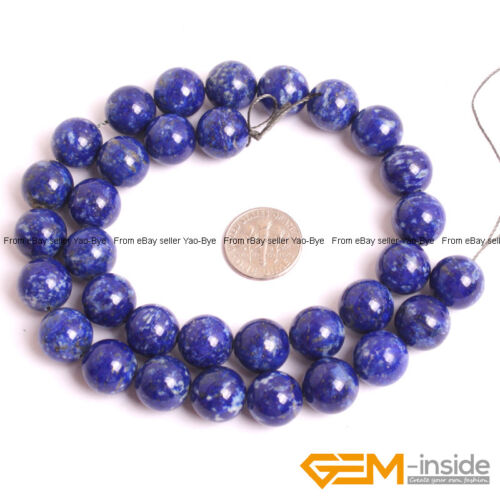 Round Natural Stone Beads for beading 4 12 6 8 14 mm  Opal Beads Lapis Loose Spacer Beads for Jewelry Making Bead 10