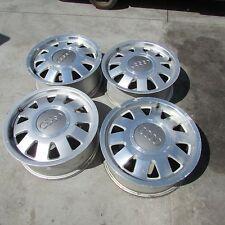 """Set 4 cerchi lega Audi A4 2000 15"""" 6J ET45 fori 5x112 usati (18025 38-1-E-2)"""