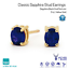 9k-Carat-Yellow-Gold-Stud-Earrings-with-Blue-Black-Oval-Sapphire-Love-Gift
