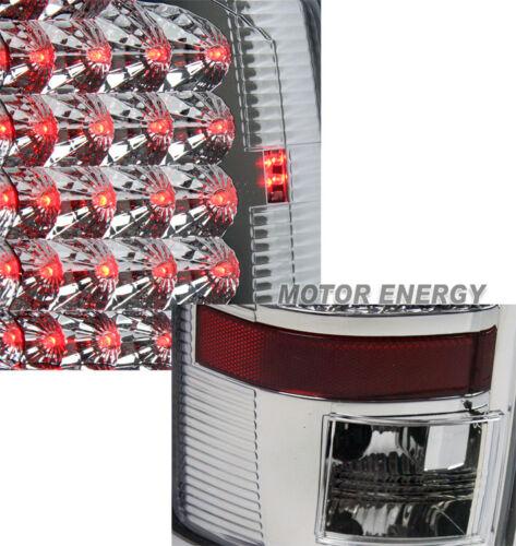 07-08 DODGE RAM 1500//2500//3500 LED TAIL BRAKE LIGHTS LAMP CHROME LEFT+RIGHT PAIR