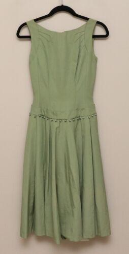 Vintage 1950s Womens XS Minx Modes Sage Green Slee