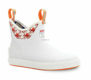 """Pick Size Coral XTRATUF Women/'s Salmon Sisters 6/"""" Ankle Deck Boot-Fishing"""