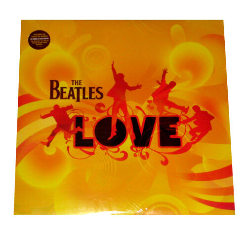 "THE BEATLES - LOVE - 4X 12"" VINYL LP - RECORD ALBUM / GATEFOLD - SEALED & MINT"