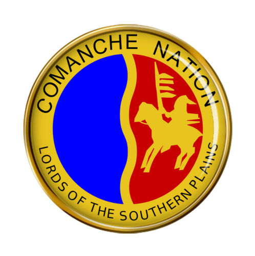 Comanche nación tribu Pin Insignia