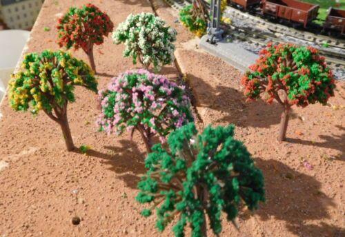 Rose hauteur 45 mm mélangé 50 arbres Blanc Jaune Vert Rouge