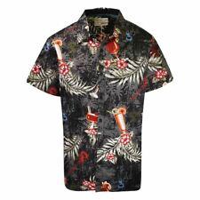 Joe Browns Men's Tropical Palm Leaves S/S Woven Shirt