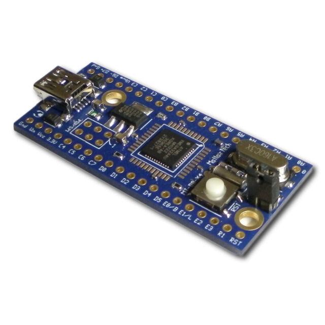 Atmel AVR XMEGA AU USB development board DFU boot ATxmega32a4u ATxmega128a4u