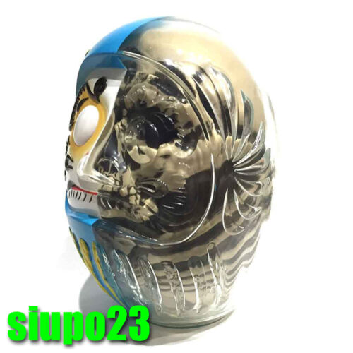 Secret Base Daruma Skull X-Ray Full Color Blue Figure