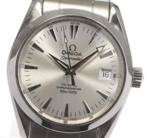 OMEGA Seamaster Aqua Terra 2504.30 Date Silver Dial Boy's Watch_596401
