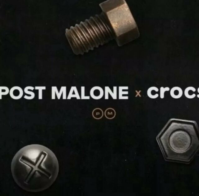 CROCS X POST MALONE JIBBITZ CHARMS SHIP FOR XMAS SCRAP