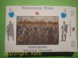 1-32-A-Call-to-Arms-30-Napoleon-Belgien-Infanterie-Soldaten-Waterloo-Figuren