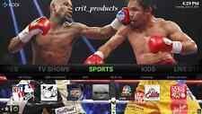 OTT TV Box 4K HD Streaming Media Player Movies TV Shows Sports Quad Core17.1