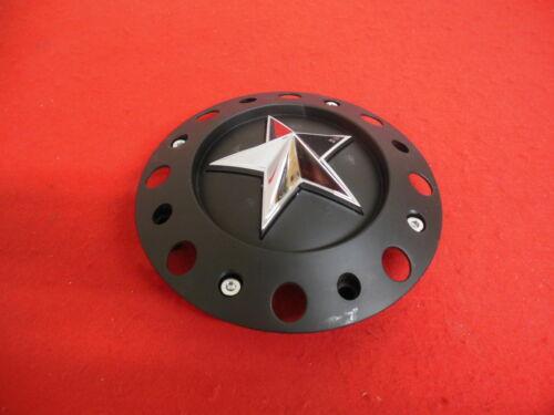 "KMC Rockstar Custom  Wheel Center Cap Flat Black  1000775 7//8/"" legs"