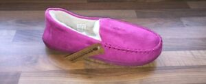 Ladies Response ultra light weight Fur slip on Moccasin Slippers size