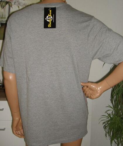 ✈ Uncle Sam T-shirt; gris; Blanc Taille M; L; XL; XXL Top Neuf ✈