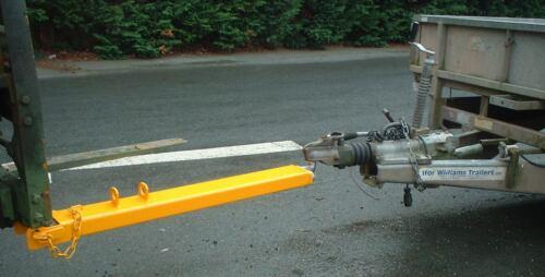 Fork £115 VAT Forklift Tow Ball Attachment 1250mm Long 110x50mm