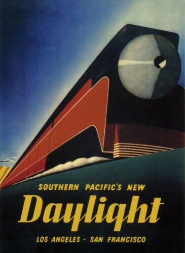 3368.Deco Locomotive Train Railroad Travel POSTER.Home store shop art decoration