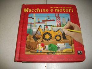 MACCHINE-E-MOTORI-DISEGNA-CON-GLI-STENCIL-APE-JUNIOR-2008-SALANI