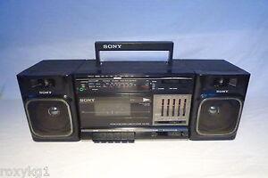 alter kassettenrecorder altes radio sony cfs 1000l 1000. Black Bedroom Furniture Sets. Home Design Ideas