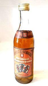 Veb Ours Sceau Berlin Ddr Cognac Grand Avec Trois 38% Vol Ppe 11,30 Mark-afficher Le Titre D'origine