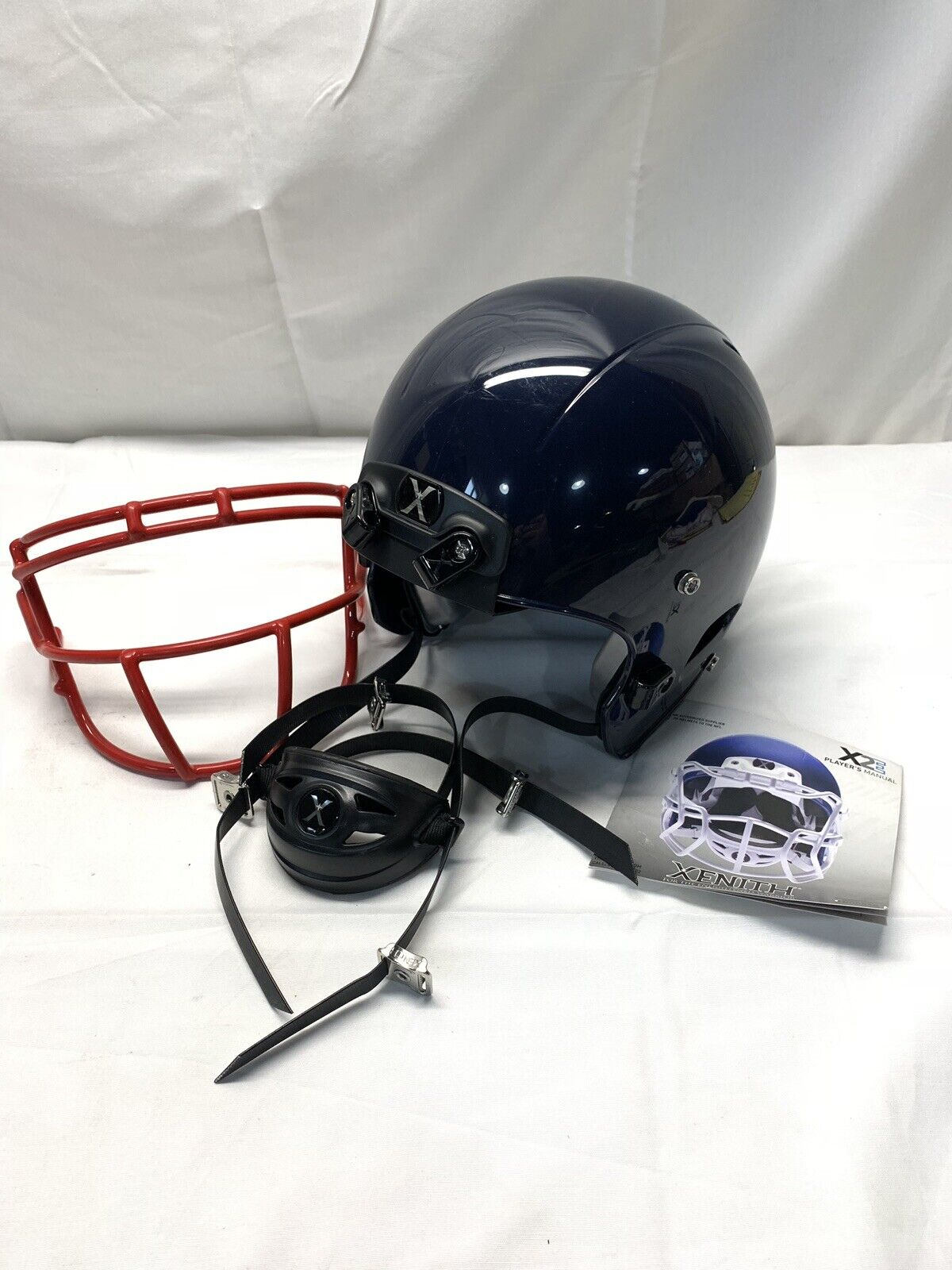 Xenith X2E Adult Small Football Helmet  NAVY blueE  2016 Issue  BRAND NEW