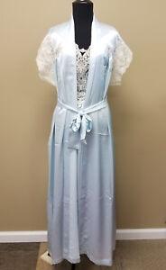 00e348c4995 Image is loading Donna-Richards-Satin-Peignoir-amp-Nightgown-Set-Fabulous-