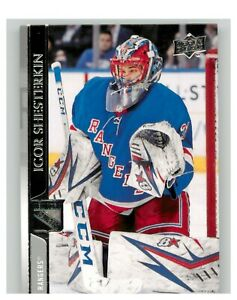 2020-21 Upper Deck UD Series 1 Base #123 Igor Shesterkin - New York Rangers