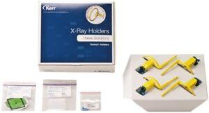 Kerr-Super-Bite-Senso-X-Ray-Sensor-Halter-Anterior-Gruen-und-Vorhergehend-Rot