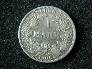 1-MARK-1905-A-Genuine-Germany-Empire-KM-14-Silver-coin-7373
