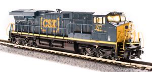 Broadway Limited N SCALE GE ES44AC CSX 993 Boxcar Scheme Paragon3 Sound//DC//DCC