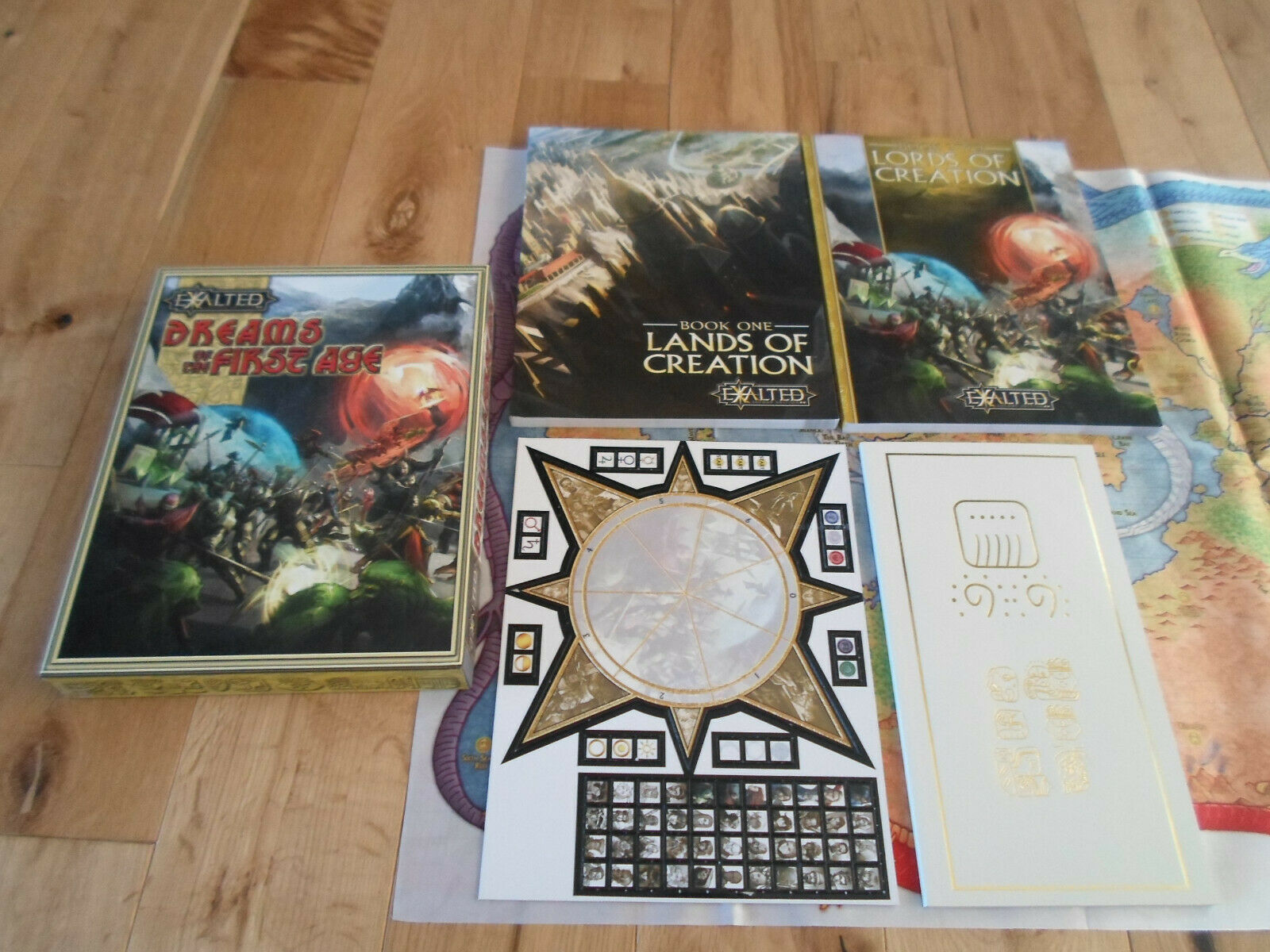 Exalted Dreams of the First Age Boxed Set (MINT UNUSED)