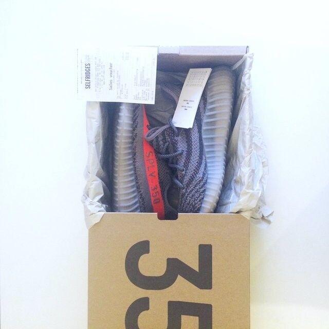 NUOVO Adidas Yeezy Boost 350 V2 Beluga ORIGINALE ORIGINALE ORIGINALE V1 1.0 SOLAR Rosso Grigio Steeple   Menu elegante e robusto    Sig/Sig Ra Scarpa  100483