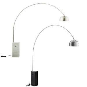 Arco-White-Or-Black-Marble-Floor-Lamp-Adjustable-Round-Nickel-Plated-Steel-Stem