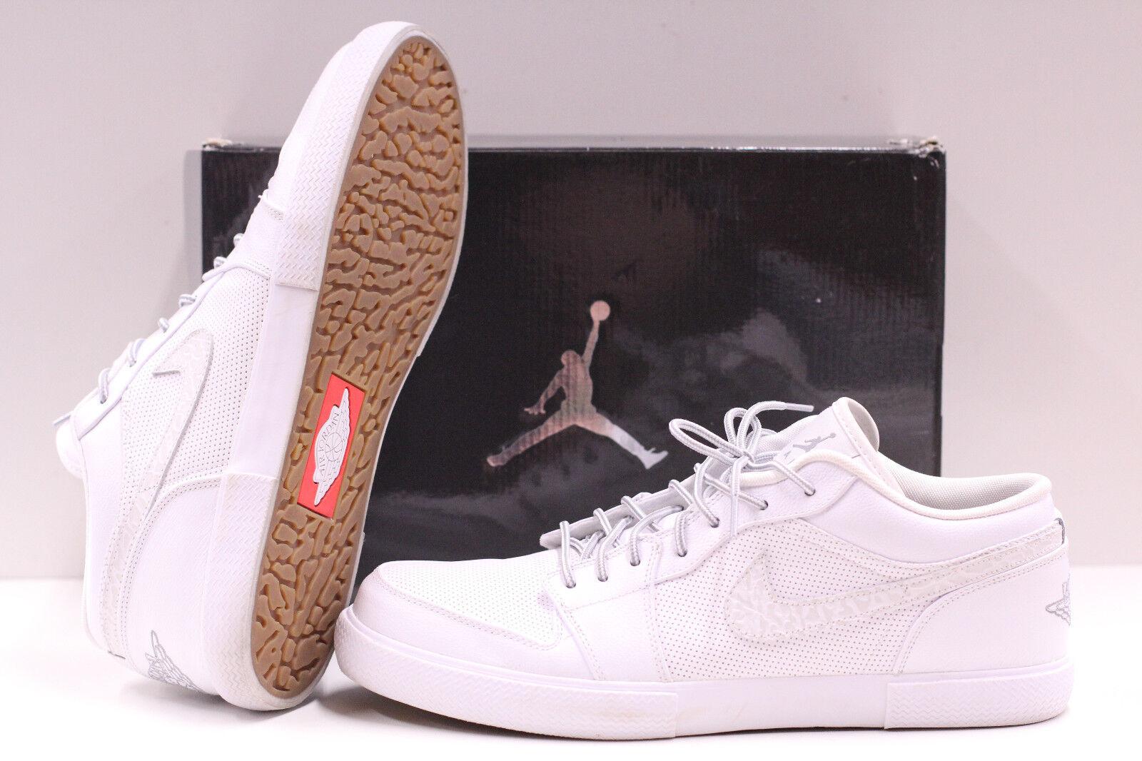 Männer - air jordan retro - v.1 weiße stealth - 481177 100 größe 13 basketball - schuhe