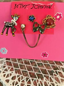 BETSEY-JOHNSON-NWT-EARRINGS-BOUGHT-AND-SOLD-IN-USA