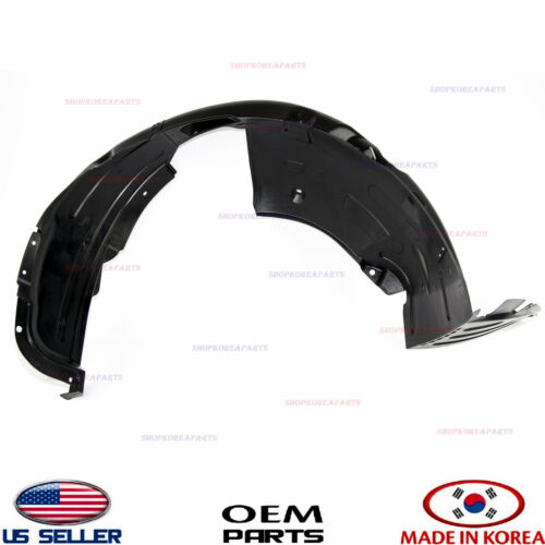 FENDER LINER FRONT RIGHT SIDE GENUINE HYUNDAI GENESIS COUPE 2012-2016 868122M500
