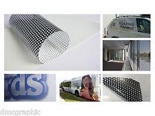 Digital Eco Solvente Imprimible una forma de ventana de visión película contravision gráficos