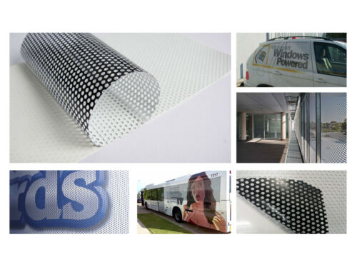 Digital Eco Solvent Printable One Way Vision Window Film Contravision Graphics