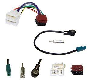 Auto-Radio-Antennen-Adapter-Kabel-DIN-ISO-Set-Lautsprecher-Hifi-KFZ-Stereo